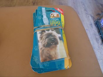 Cairn Terrier Acrylic Luggage Tag