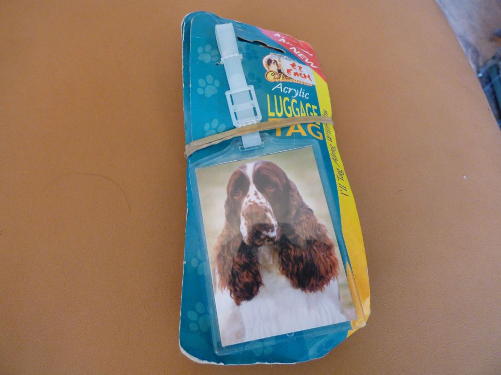 Springer Spaniel - Acrylic Luggage Tag