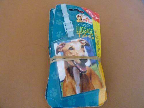 Greyhound - Acrylic Luggage Tag