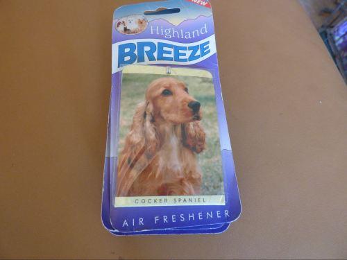 Golden Cocker Spaniel - Air Freshener
