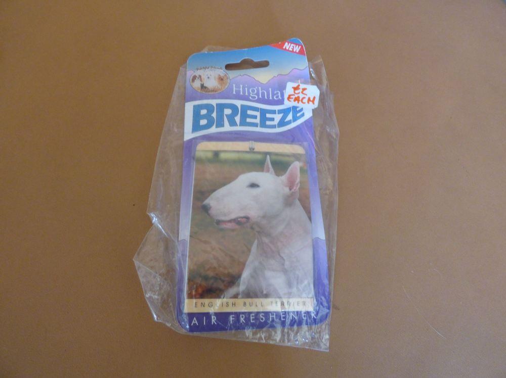 Bull Terrier - Air Freshener