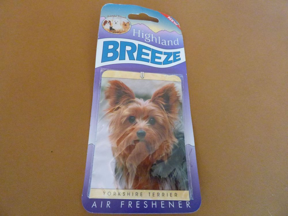 Yorkshire Terrier - Air Freshener
