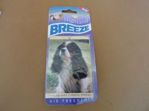 Tri Coloured Cavalier King Charles Spaniel - Air Freshener