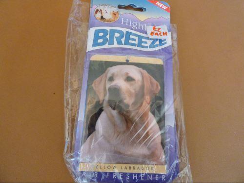 Yellow Labrador - Air Freshener