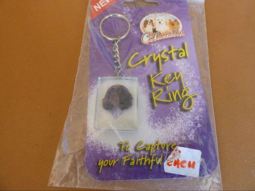 Springer Spaniel - Crystal Keyring