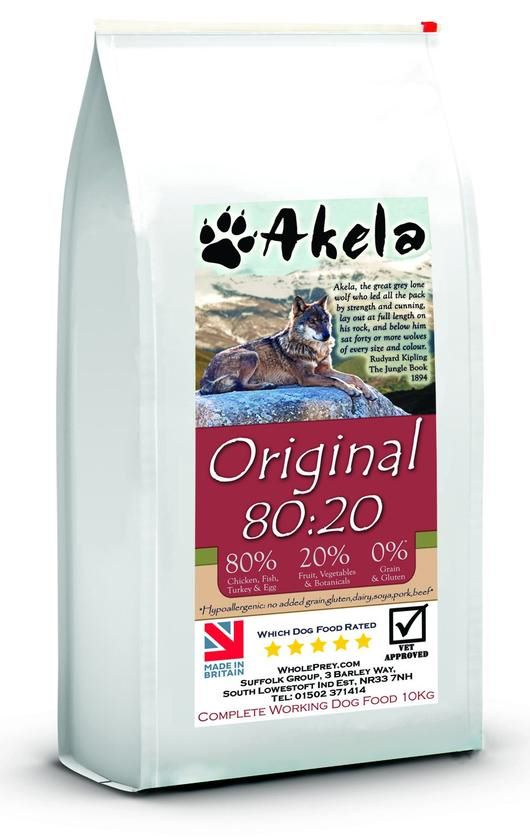 Akela 80:20 - Ancestral Diet for the Modern Pack