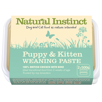 Natural Instinct Puppy & Kitten Weaning Paste 2 x 500g  (To order)