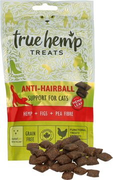 True Hemp Anti Hairball Cat Treats 50g