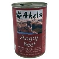 Akela Grain-Free Complete Wet Working Dog Food Angus Beef 400g Tin