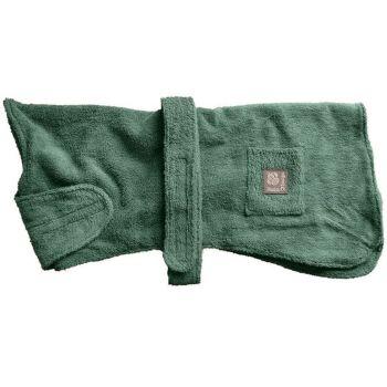 """Danish Design Drying Coat Green - 40cm (16"""") - Cavalier, Westie Size"""