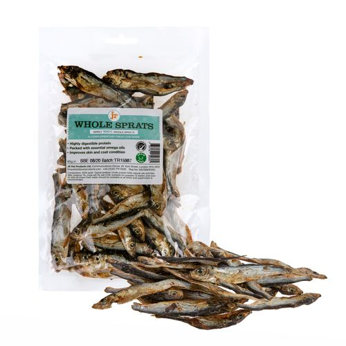 JR Pets Whole Dried Baltic Sprats - 85g pack