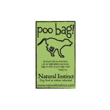 Biodegradable Natural Instinct branded poo bags - roll of 25