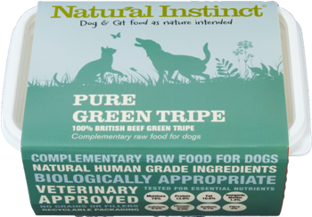 Natural Instinct Pure  Green Tripe - 1 x 1kg pack
