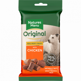 Natures Menu Real Meaty Dog Treats Chicken 60g pack