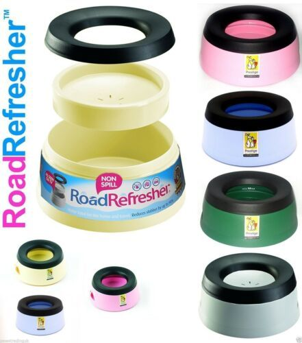 Prestige Road Refresher Non-Spill Bowl - Pink Small 600ml