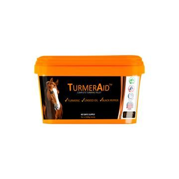 TurmerAid™ - Complete Turmeric Pellet for Horses and Ponies - 2kg Tub  (To order)