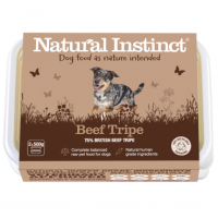 Natural Instinct Dog Beef Tripe 1 x 1kg pack