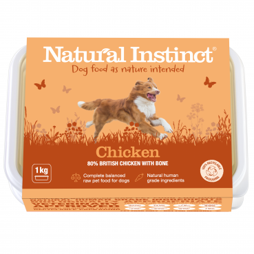 Natural Instinct Dog Chicken 1 x 1kg pack   (Due in Friday 21 August)