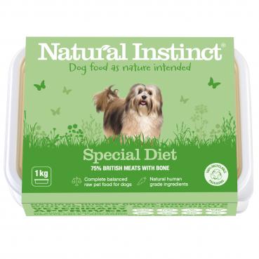 Natural Instinct Dog Special Diet (Beef & Chicken) 2 x 500g packs   (Due in
