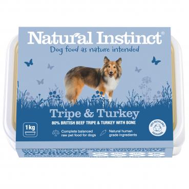 Natural Instinct Dog Tripe & Turkey 1 x 1kg pack   (Due in Friday 21 August