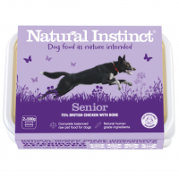 Natural Instinct Senior Dog Food (Chicken & Vegetables) 2 x 500g packs