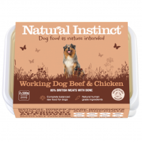 Natural Instinct Working Dog Beef & Chicken - 1 x 1kg pack