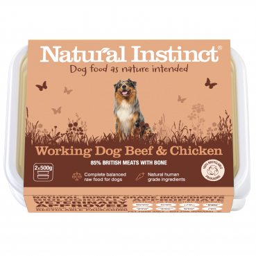 Natural Instinct Working Dog Beef & Chicken - 1 x 1kg pack    (Due in Frida