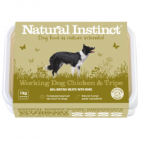 Natural Instinct Working Dog Chicken & Tripe - 1 x 1kg pack