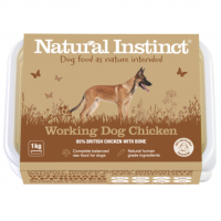 Natural Instinct Working Dog Chicken - 1 x 1kg pack
