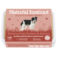 Natural Instinct Working Dog Chicken Salmon - 1 x 1kg pack