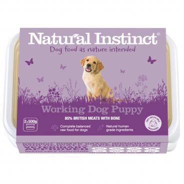 Natural Instinct Working Dog Puppy - 1kg pack