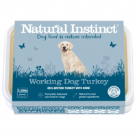 Natural Instinct Working Dog Turkey - 1 x 1kg pack