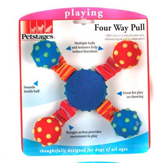 Petstages Four Way Pull