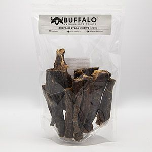 Buffalo Steak Chews 200g pack