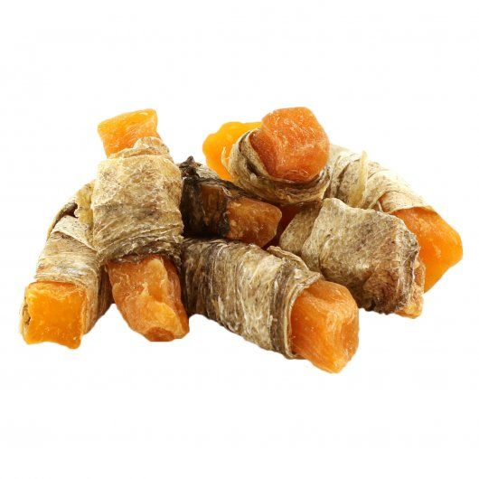 Elkwood Sweet Potato Strips Wrapped With Fish Skin