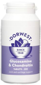 Glucosamine & Chondroitin Tablets For Dogs And Cats 100 tablets - Joints & Mobility for Cats and Dogs