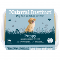 Natural Instinct Puppy (Chicken & Beef Liver) 1kg