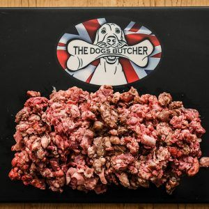 The Dogs Butcher Meaty Lamb Mince Complete with Duck - 1kg