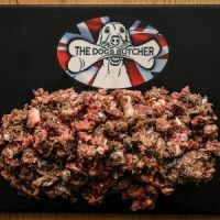The Dogs Butcher Surf & Turf - Oily Fish, Ox & Duck Complete (no tripe) - 1kg