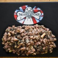 The Dogs Butcher Tripe & Oily Fish Mince - 1kg