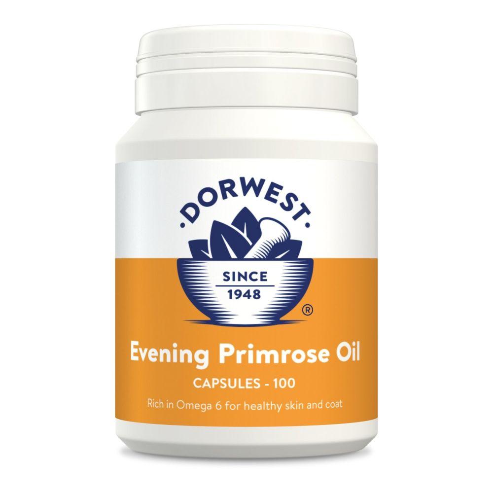 Evening Primrose Oil Capsules for Dogs & Cats - 200 capsules