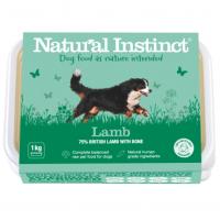 Natural Instinct Dog Lamb 1 x 1kg pack