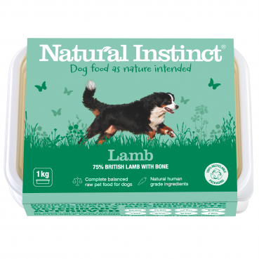 Natural Instinct Dog Lamb 1kg pack     (Due in Friday 30 April)