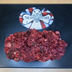 The Dogs Butcher Venison, Beef  & Turkey 80:10:10 - 1kg   (Due in Wednesday