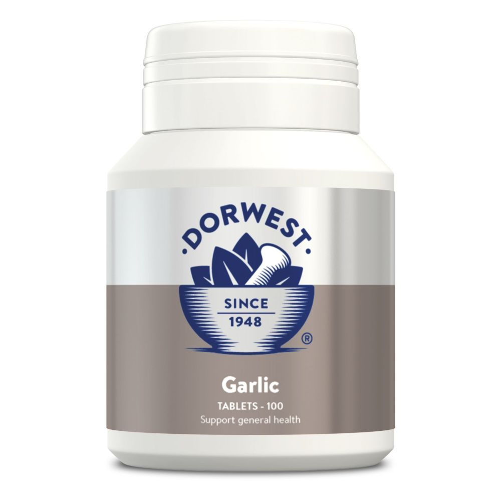 Garlic Tablets For Dogs And Cats for General Health - 100
