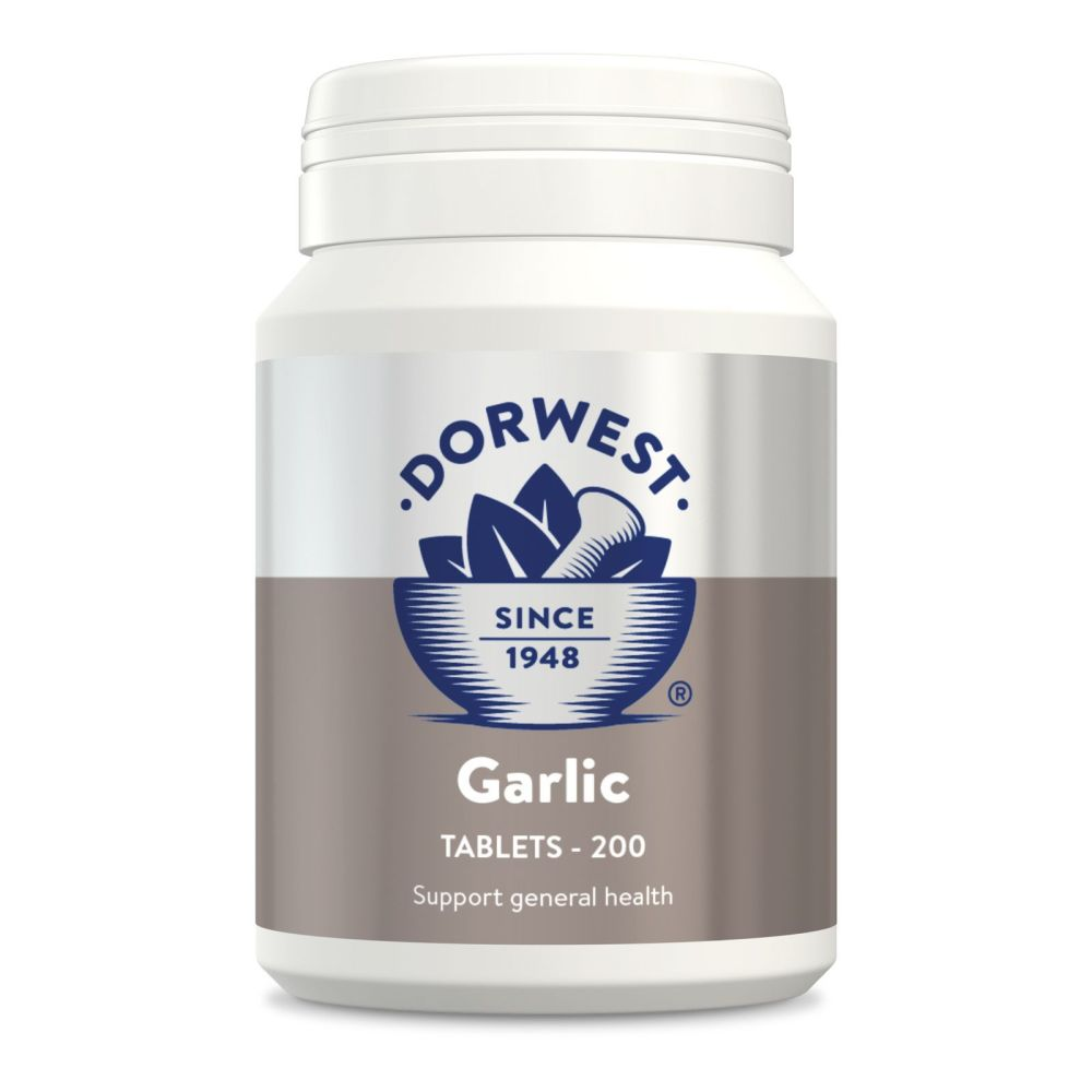 Garlic Tablets For Dogs And Cats for General Health - 200