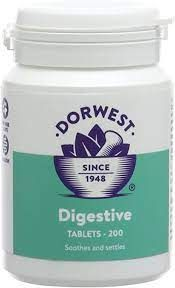 Digestive Tablets for Cats & Dogs - 200 tablets