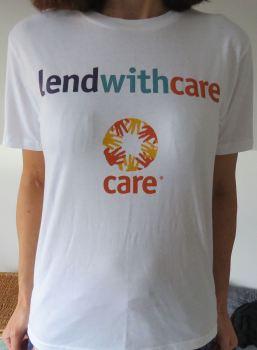 Lendwithcare T-shirt (white)