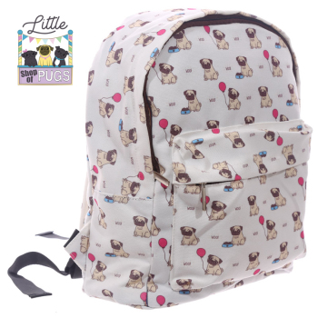 Pug Rucksack bag  SALE was £14.99