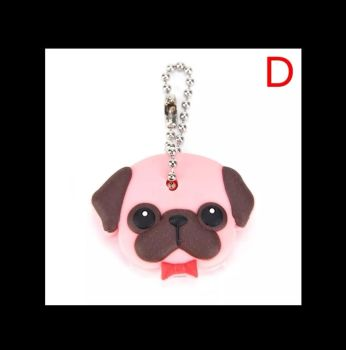 Fawn Pug Key Cover for Circular Keys